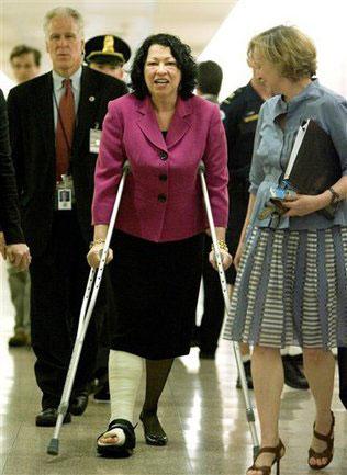 Supreme Court nominee Sonia Sotomayor