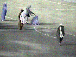 Taliban soccer field execution of woman